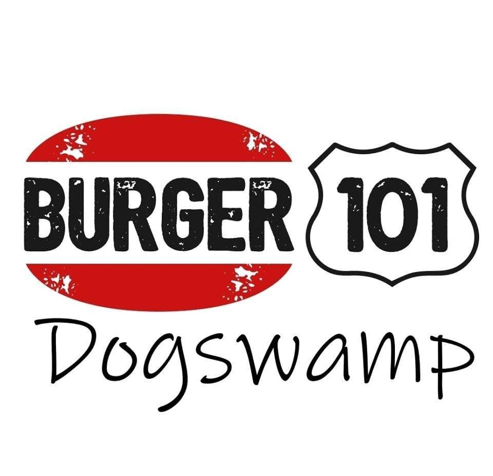 logo for Burger 101